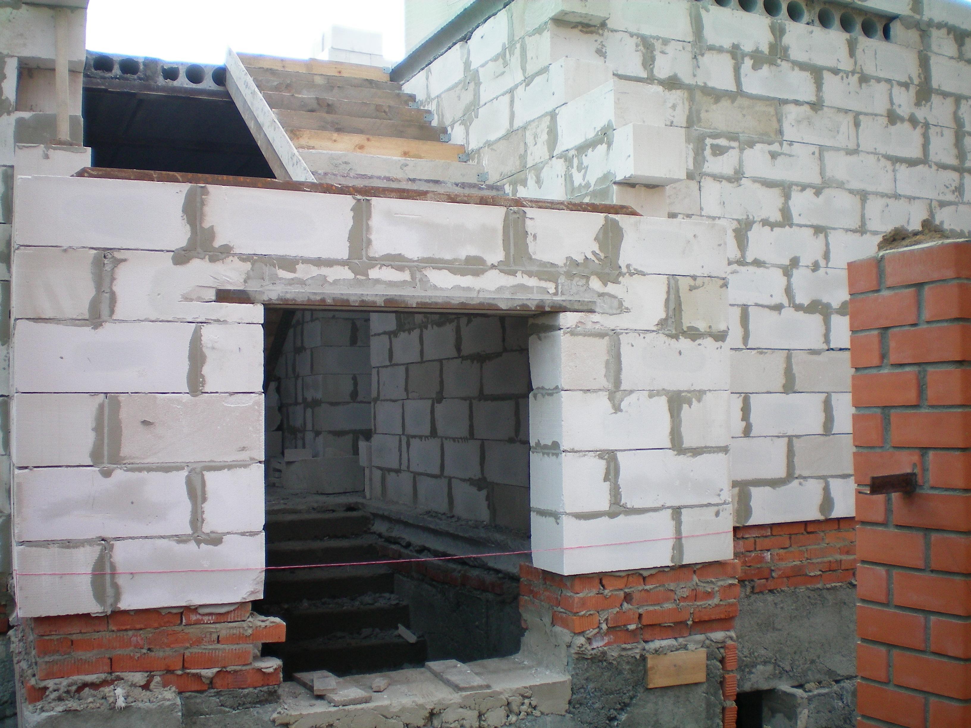 Видео строительство дома из пенобетона своими руками